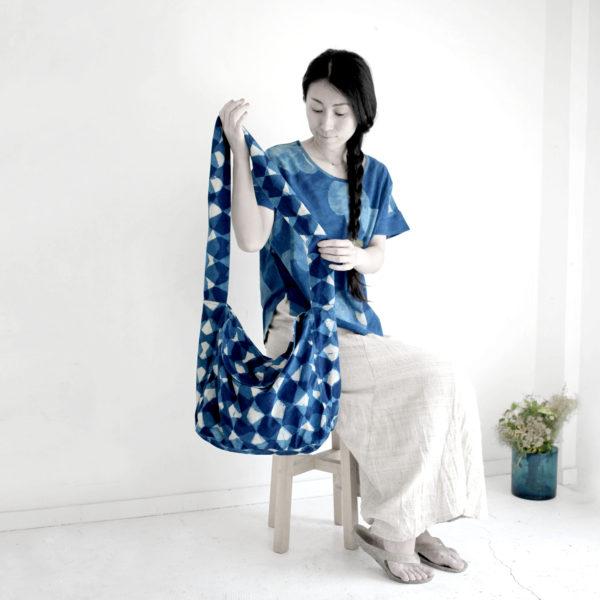 『インド更紗の 洋服とバッグ展』