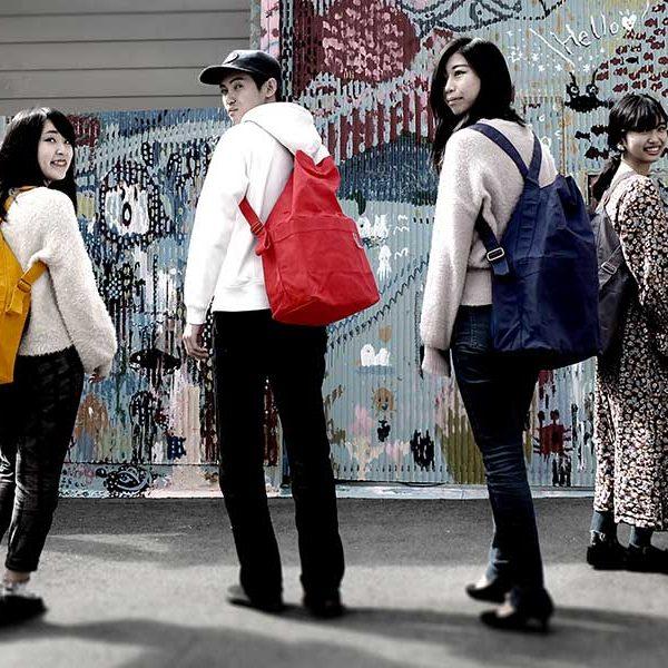 大阪市立大学 田村ゼミと共同開発 防災バッグ【AIR POST】できました!