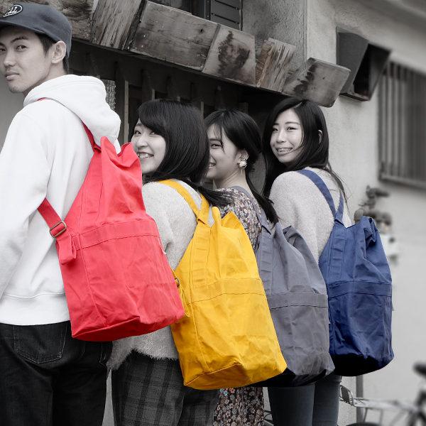 大阪市立大学とのコラボ防災バッグ『AIR POST』あべのハルカスで展示販売。